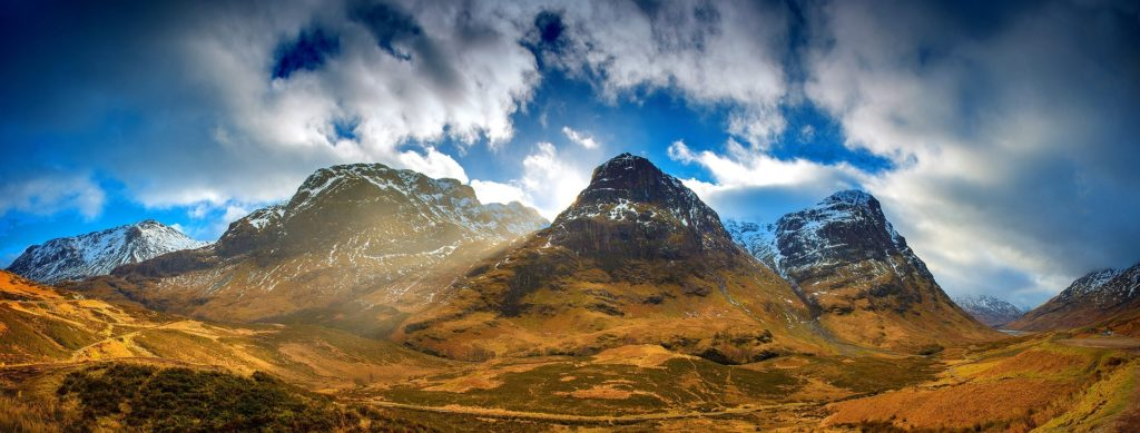 three sisters scotland